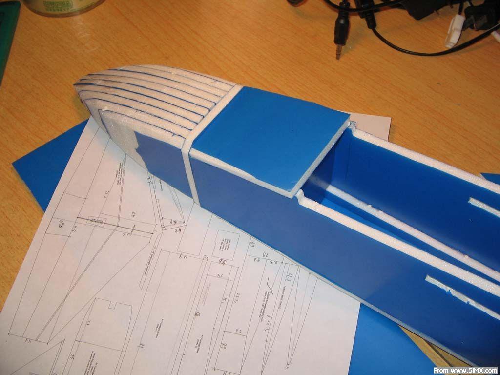 kt板f-18制作过程(多图)